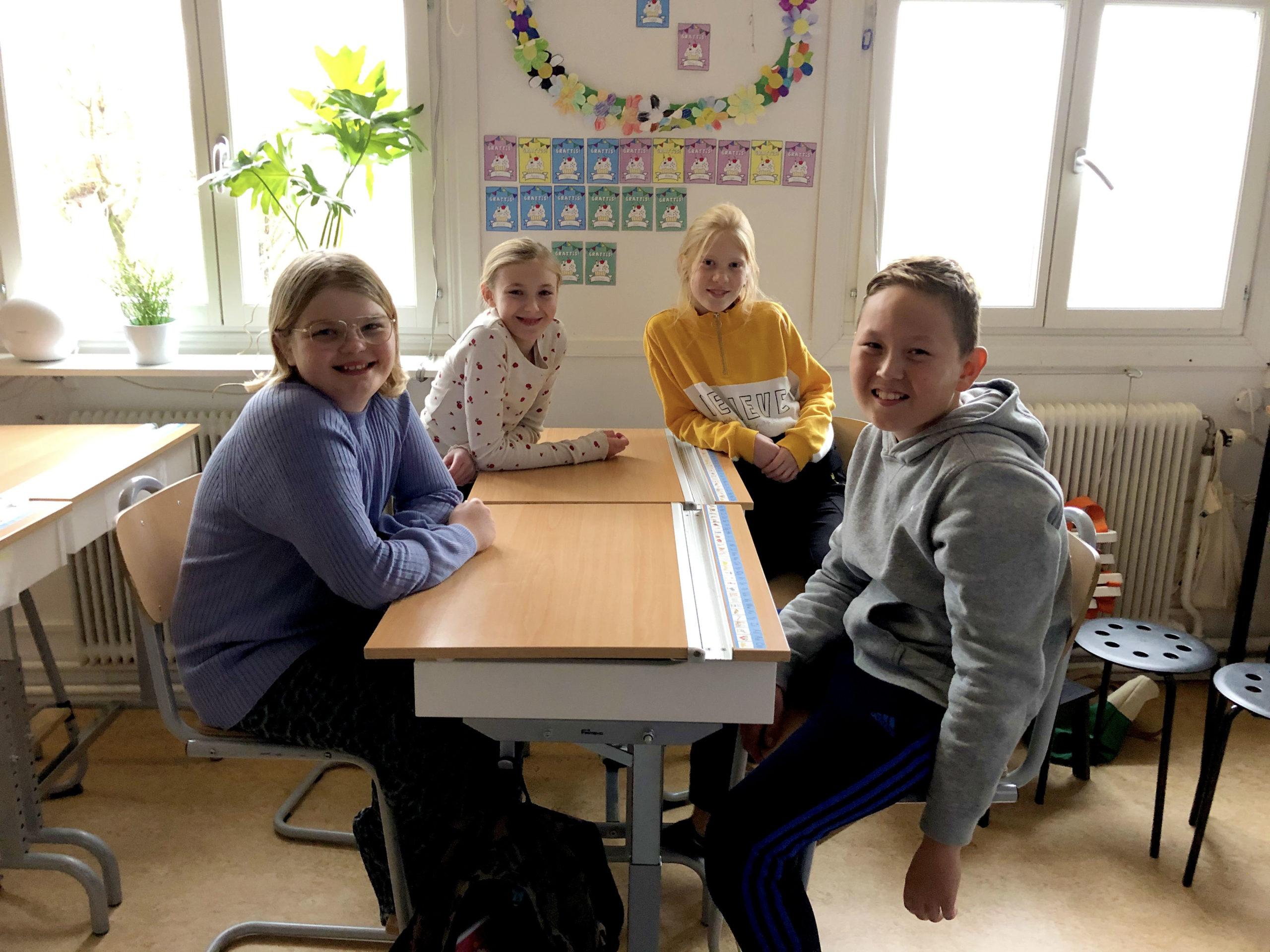 Elever på Tryserums skola