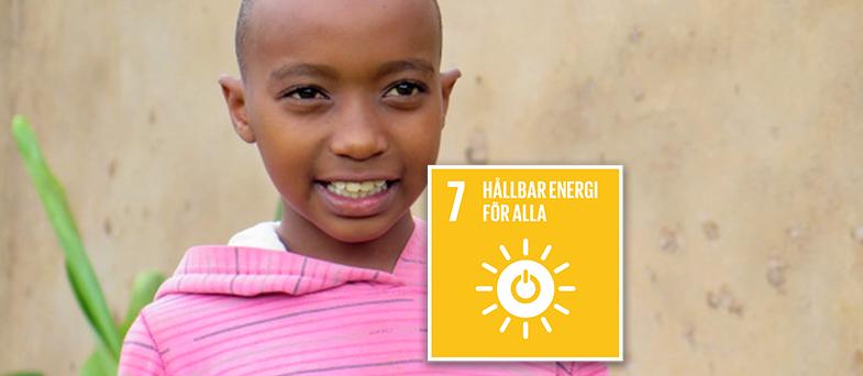 Lektion om Globala målen 7 - hållbar energi