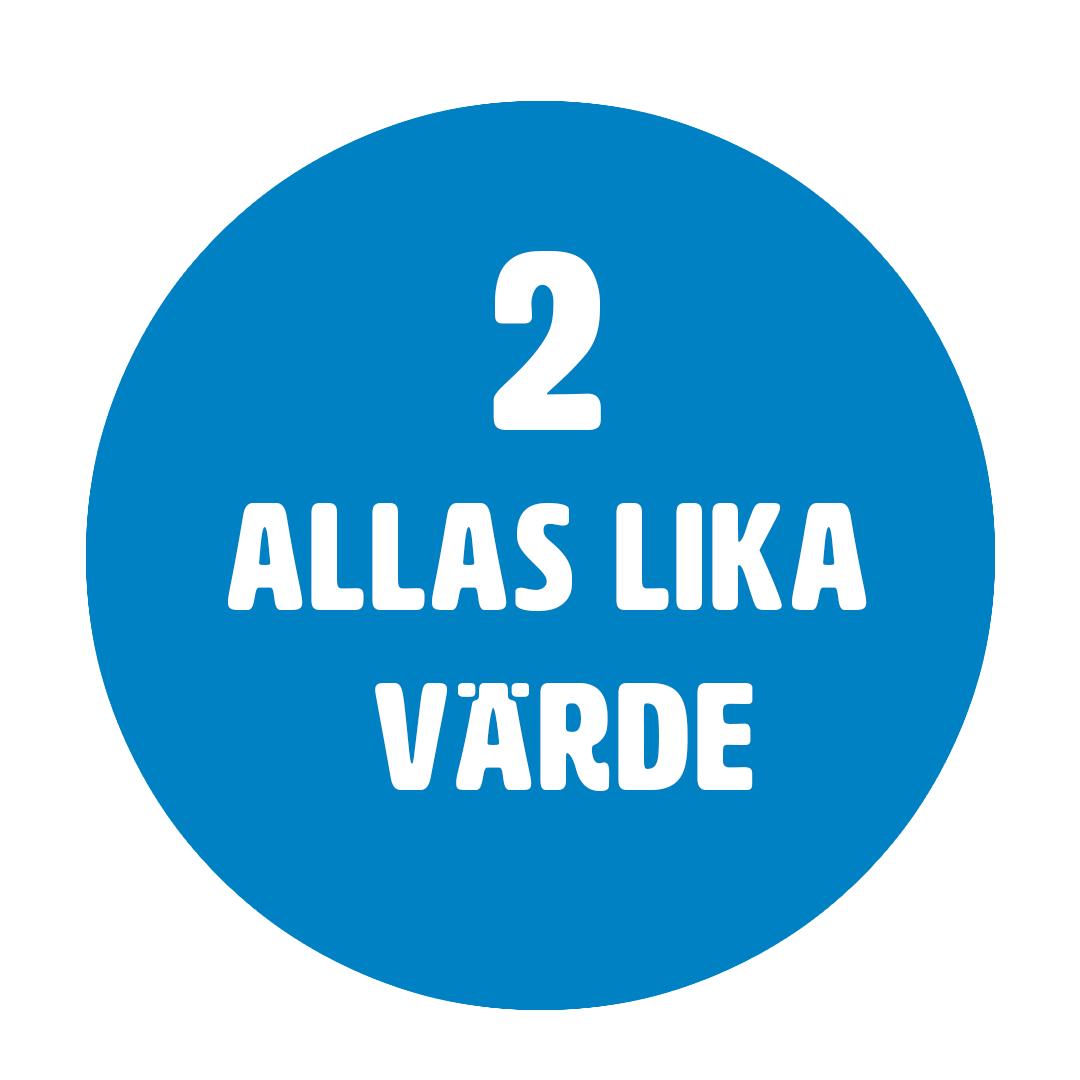 Barnkonventionen artikel 2 - Allas lika värde