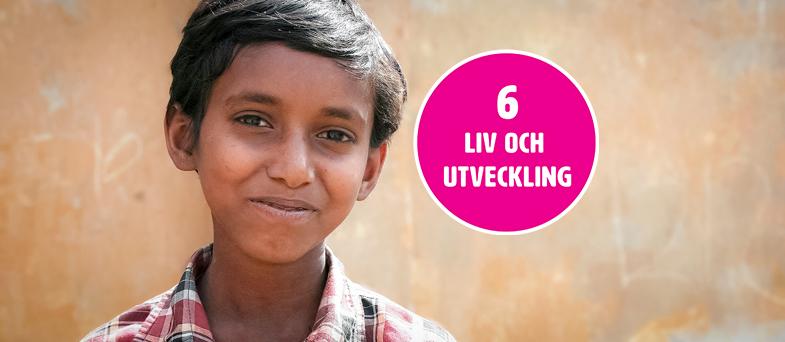 Barnkonventionen artikel 6 - Liv och utveckling