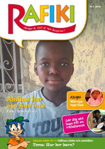 Rafikis tidning - Hur bor barn?