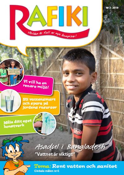 Rafikis tidning - Rent vatten och sanitet