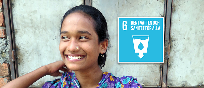 Lektion om globala målen nummer 6 - rent vatten och sanitet