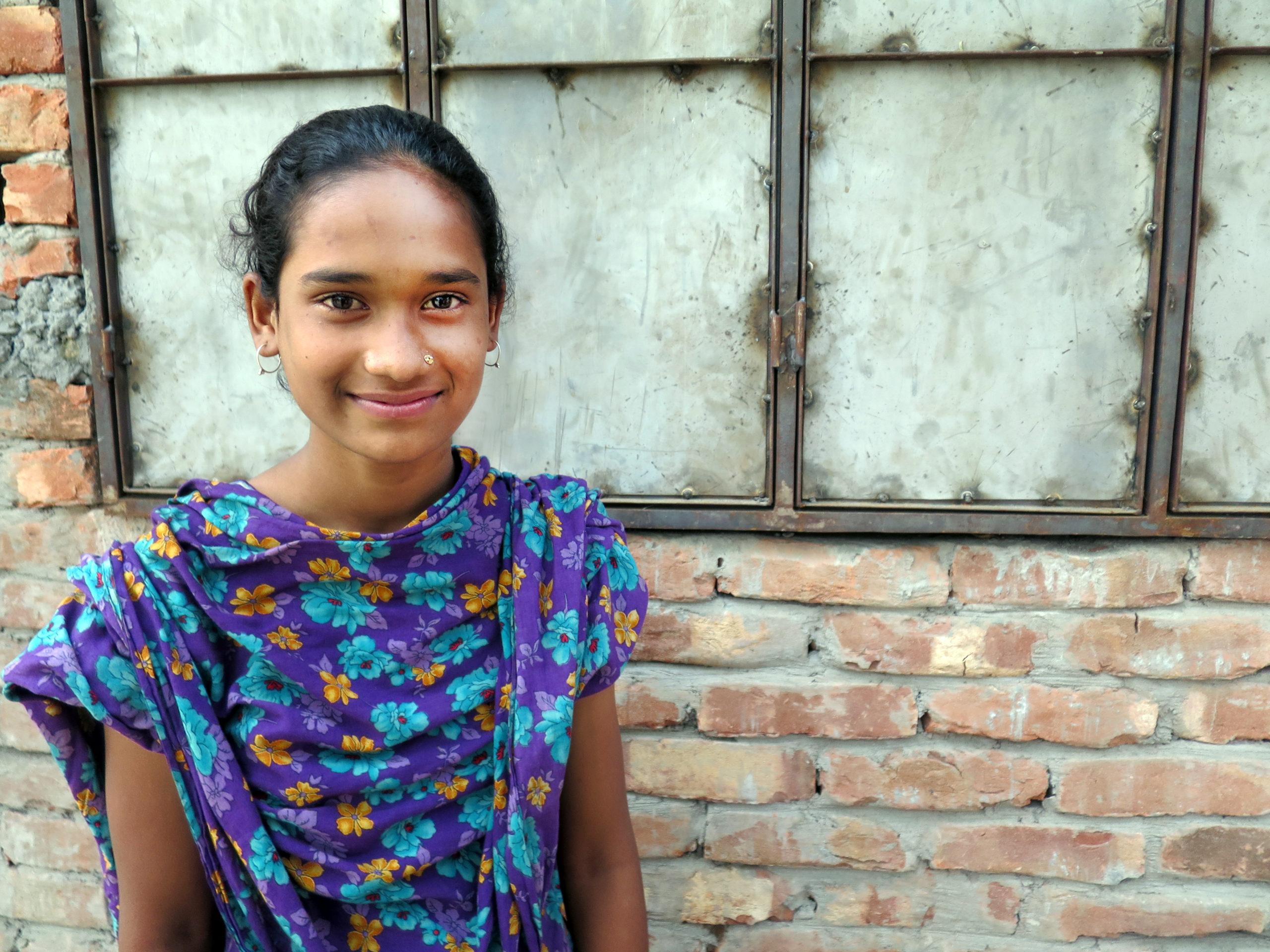 Sheela och vattnet i Bangladesh