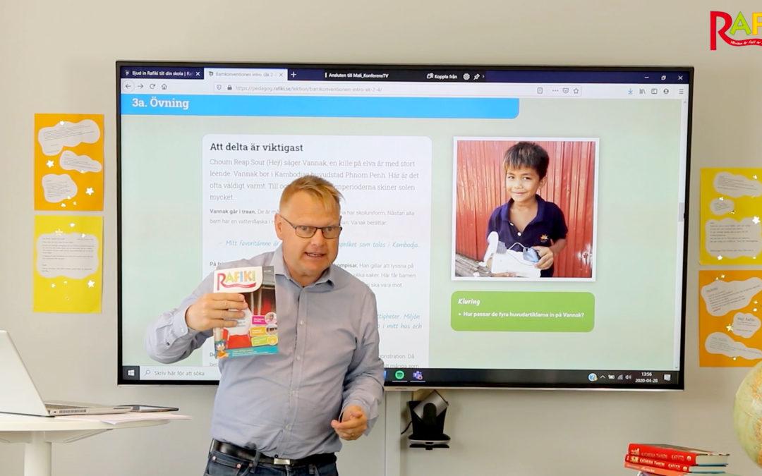 Använd e-lektionerna smart