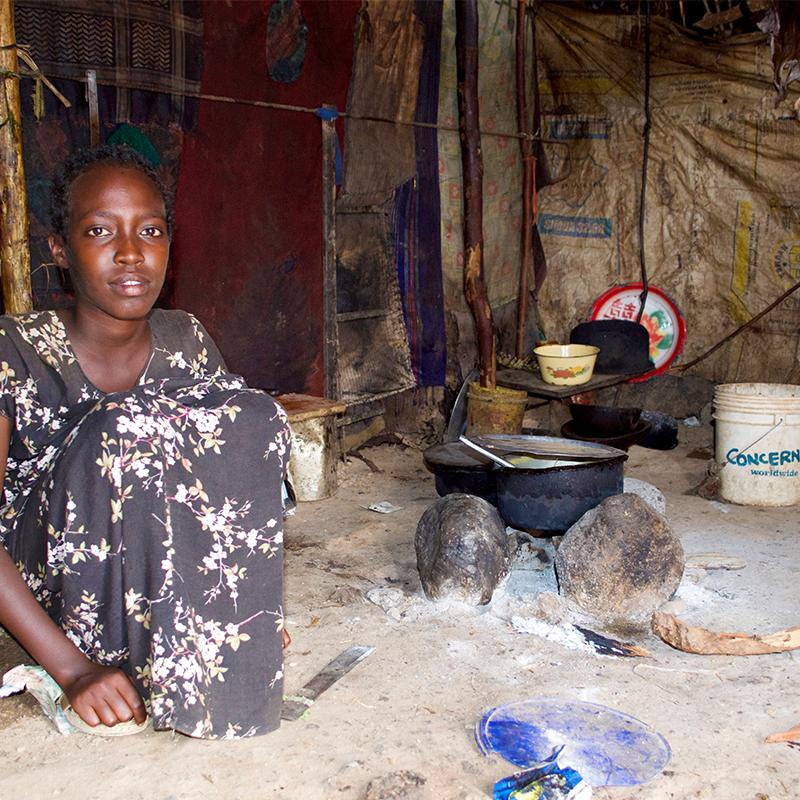 Hemma hos Kame i Kenya