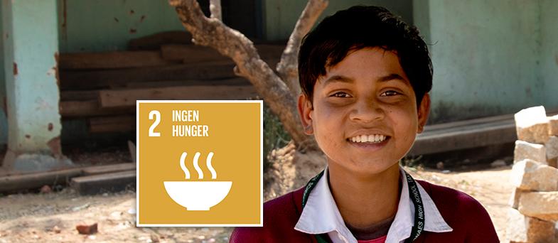 E-lektion om globala målen 2 - Ingen hunger