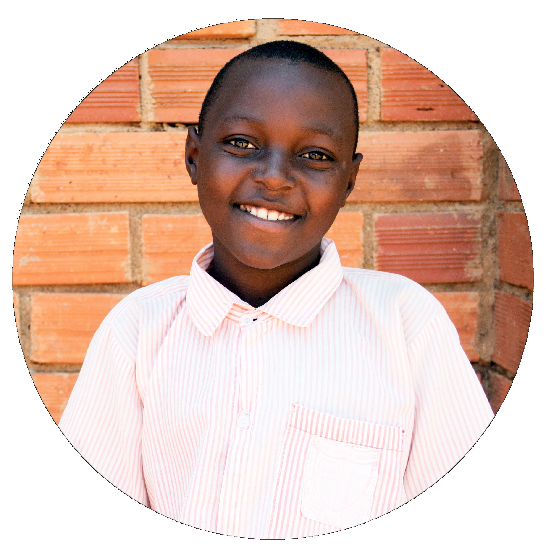 Ezekiel bor i Uganda