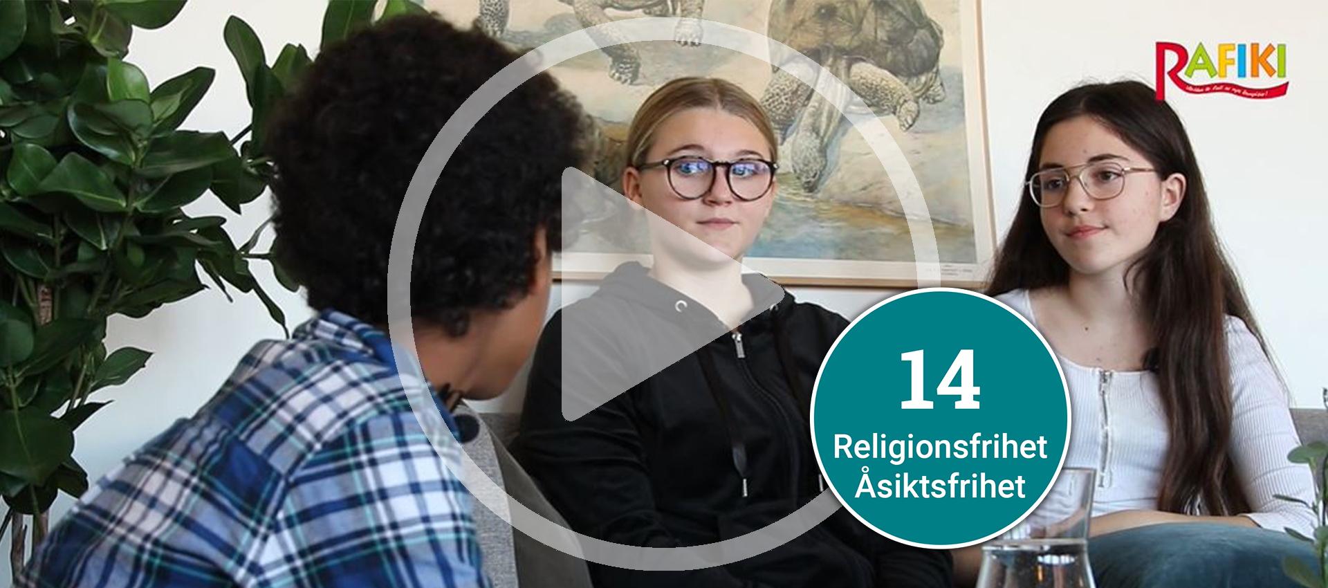 E-lektion om barns rätt till åsiktsfrihet och religionsfrihet