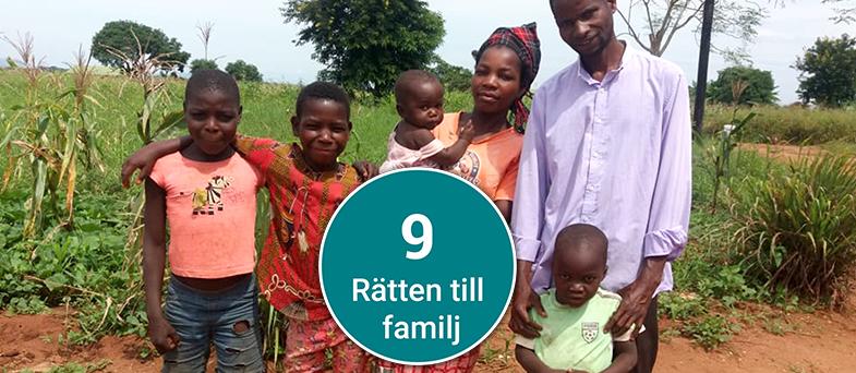 Barnkonventionen artikel 9 - Rätten till sin familj 4-6